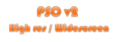 PSO V2 title